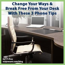 Break free from your office desk phone