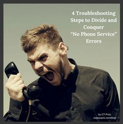 Troubleshooting No Phone Service Errors