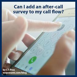 After Call Phone Surveys