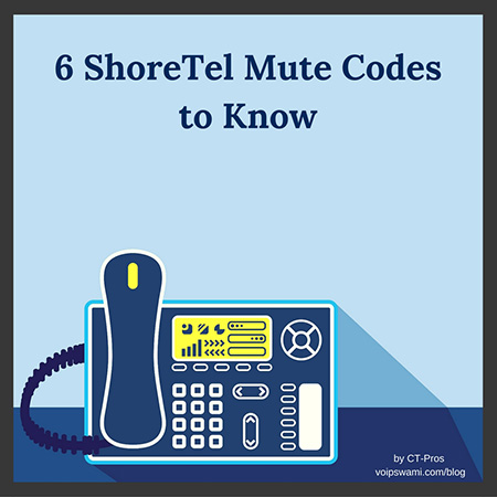 6 Common ShoreTel Mute Codes Used for Setup and Troubleshooting