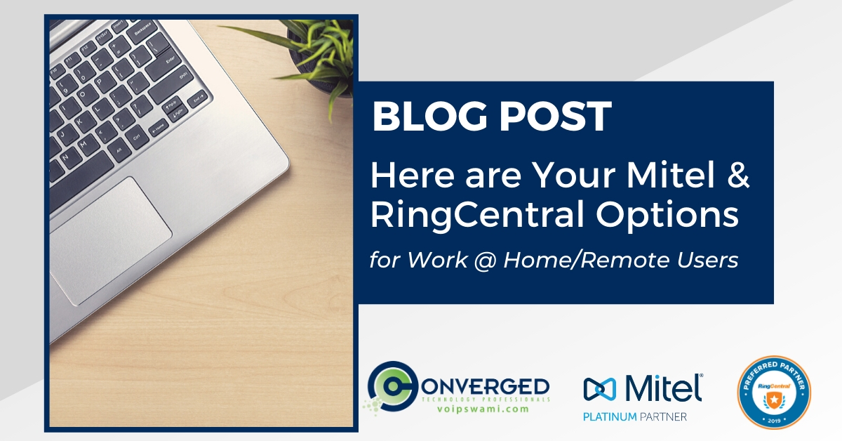 work from home remote users mitel ringcentral