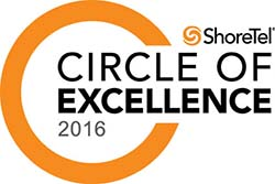CT Pros ShoreTel Circle of Excellence